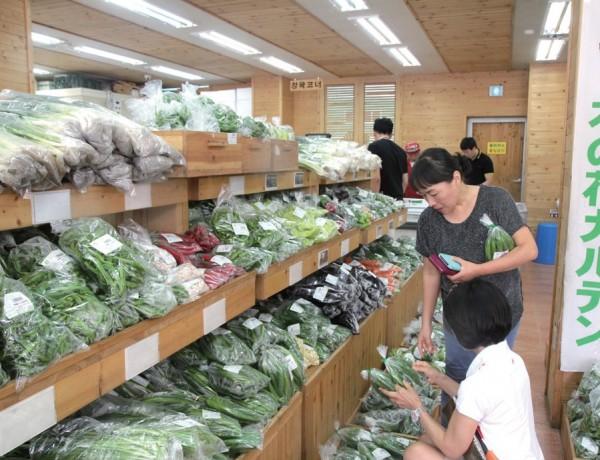 지역의 로컬푸드판매장. 지난 10년간 소비자인 시민들이 농업을 접하는 기반이 변했다.