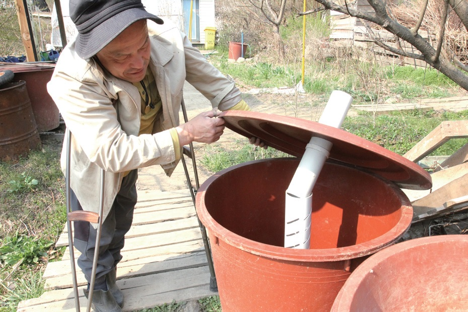 안철환 대표의 간단하고 작은 아이디어가 발전하여 실용화 가능한 퇴비화 설비로 발전했다.