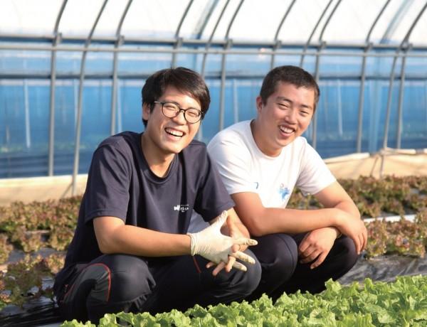'해강산 프로젝트'의 두 주인공 구해강(왼쪽), 김강산 씨.