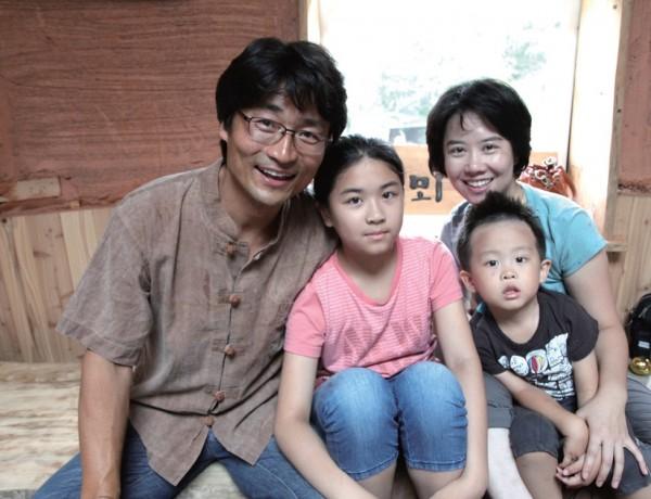 양희전 씨의 새로운 도전과 시도를 응원해 주는 가족들