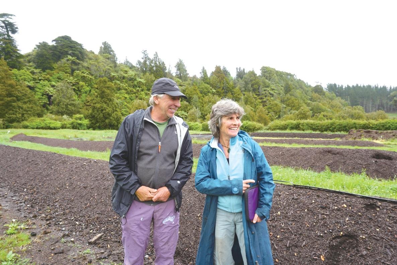 스티브 에릭슨과 제니 에릭슨. 미국 유타 주에서 20년간 채소 농사를 짓다 뉴질랜드로 왔다. Ⓒ대산농촌재단