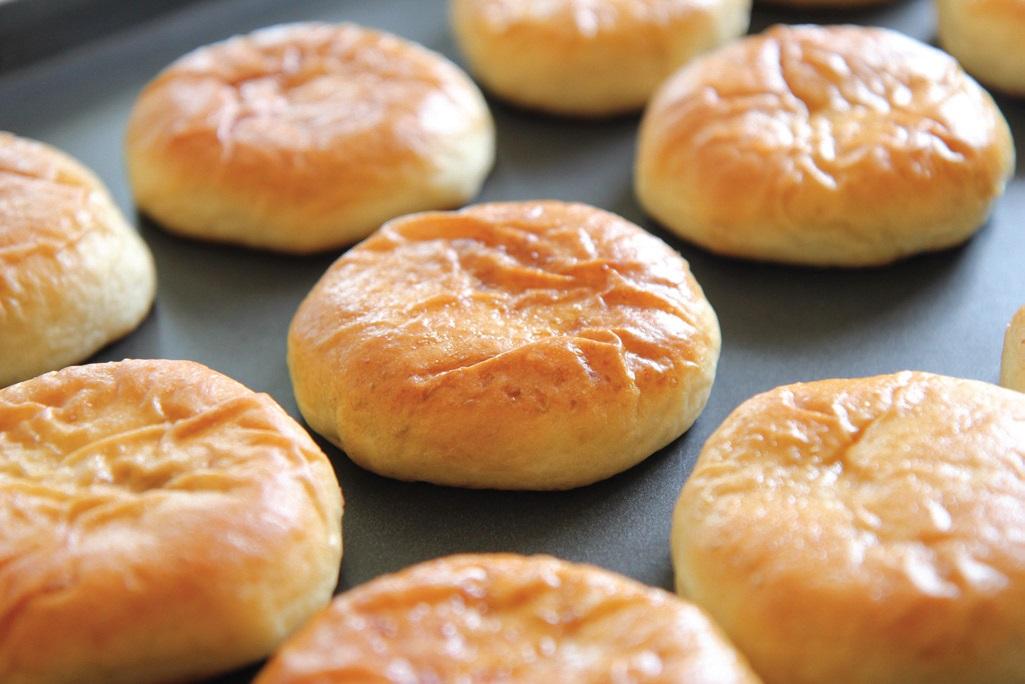 유지혜 씨가 우리 쌀로 만든 떡케이크, 우리 밀로 만든 단팥빵
