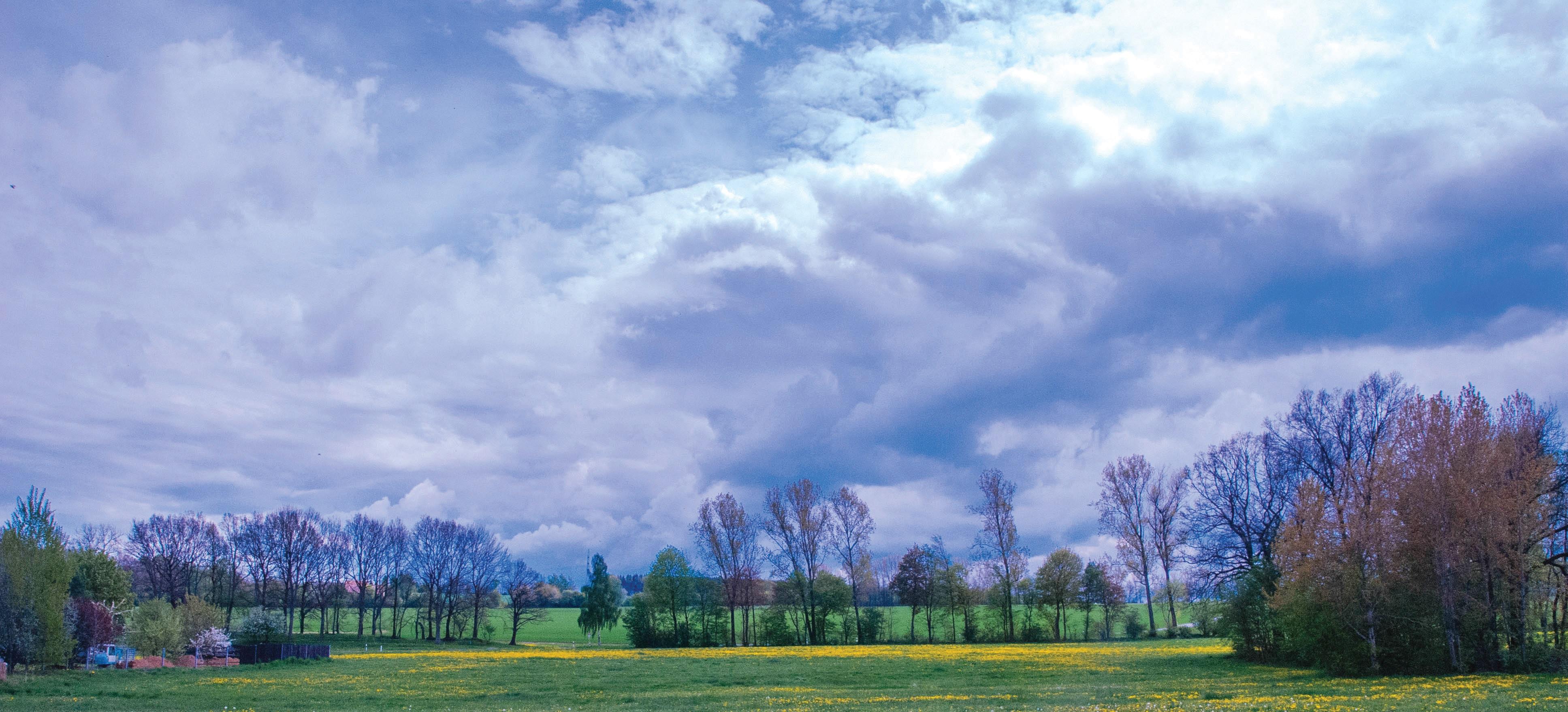 독일의 아름다운 풍경. 독일 국민은 국토의 아름다움보다 이를 지켜나가고 있다는 점을 더욱 자랑스럽게 여긴다.