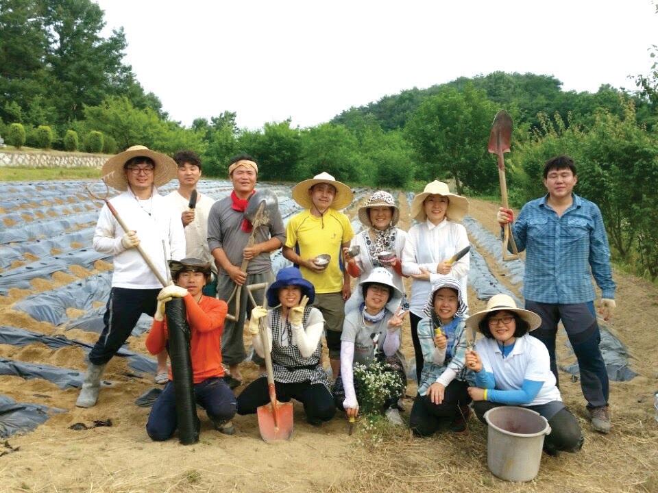 와룡배움터 활동가와 마을 이웃들은 고령의 농가에 찾아가 밭일을 도우며 우리 밥상의 먹거리를 생산하는 농민과 직접 교류하는 시간을 가졌다.