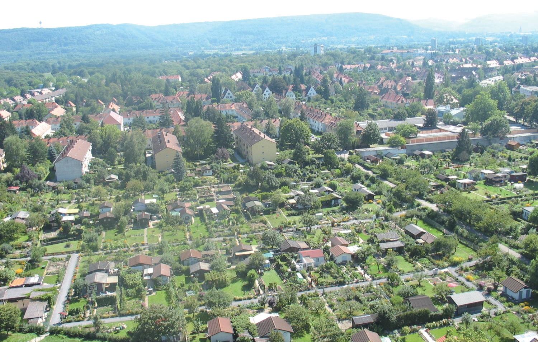 칼스루에시는 독일 전체에서 클라인 가르텐이 가장 활발한 도시다. 도시 전체가 숲 같다. ⓒ칼스루에 클라인 가르텐 협회