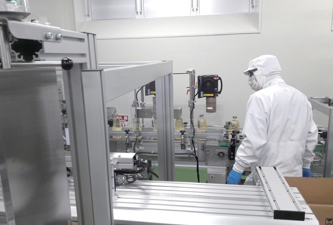 한국유채생산자연합회의 유채생산 농가들이 일본 '히라다 산업'을 방문하여 유채유 공장을 견학하고 있다. ⓒ남성민