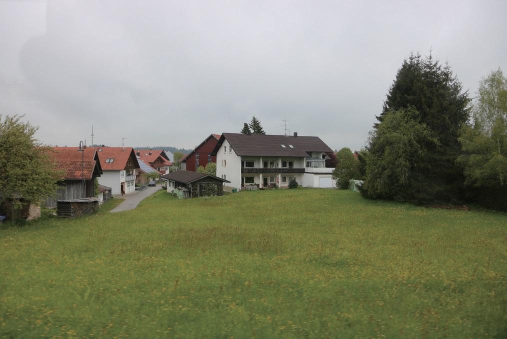 독일 알고이 지역의 경관을 잘 보존하고 있는 발트 마을.