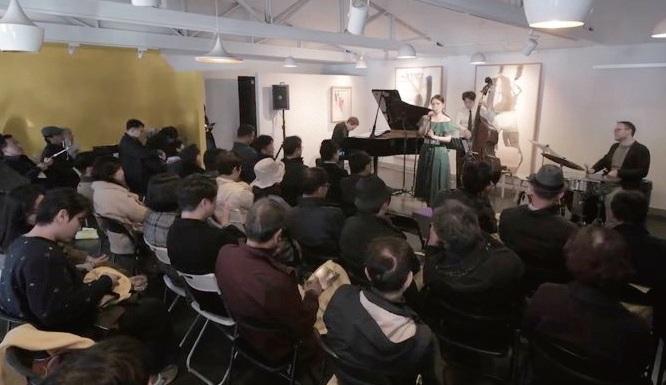 재즈와 전통주를 함께 즐길 수 있는 행사. ⓒ밝은세상영농조합법인